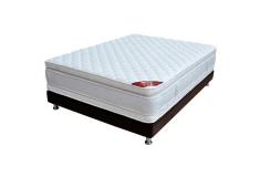 KOMBO SPRING: Colchón 140 x 190 Descanso Perfecto + Base Cama Salim Doble
