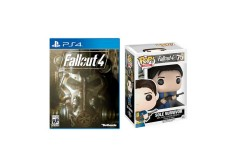 Bundle PS4 Videojuego Fallout 4 + Funko Sole Survivor