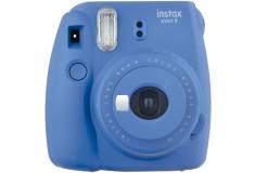 Cámara FUJIFILM INSTAX Mini 9 Azul Cobalto + Estuche