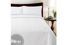 Cubrecama K-LINE Sencillo Multicolor Algodón 100%