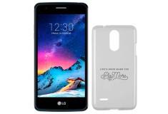 Celular Libre LG K8 (2017) DS 4G Negro Azul + Estuche Jelly Case