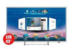 """TV 43"""" 109cm LED HYUNDAI HY43 Full HD internet"""