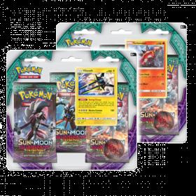 Pokemon TCG Sun & Moon 2 - Guardians Rising Three-Booster Blister