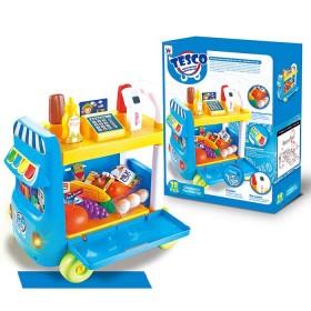 TESCO Carrito de Supermercado con accesorios