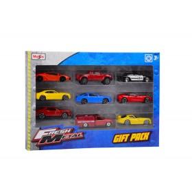 Set de 9 vehículos de metal Maisto Fresh