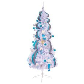 Árbol de Navidad 250 cm 1044 Tips Blanco