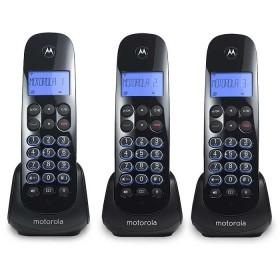 Teléfono Inalámbrico MOTOROLA M750-3 CA Negro