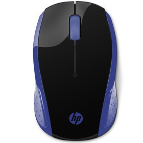 Mouse HP Inalambrico Optico 200 Negro / Azul