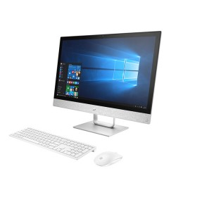 """PC All in One HP - 24-r025 - AMD A12 - 23.8"""" Pulgadas - Disco Duro 1Tb - Blanco"""
