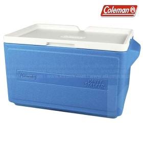 Hielera azul COLEMAN de 48 latas