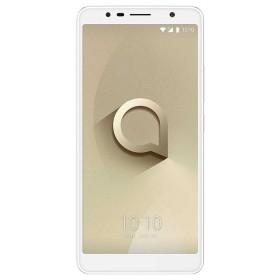 Celular libre ALCATEL 3C Blanco/Dorado SS 3G