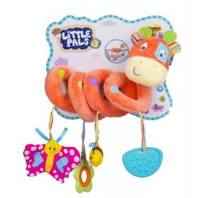 Jirafa para cuna Win fun little pals naranja