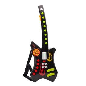 WINFUN Guitarra eléctrica Negra 2