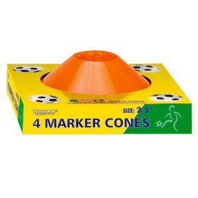OUTDOOR PLAY 4 Conos para jugar Football 2.5""