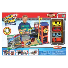 EXPRESS WHEELS Playset Track N Town parking garage