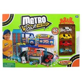 EXPRESS WHEELS Playset Metro town Autolavado