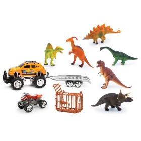 Vehículos de fricción con Dinosaurios