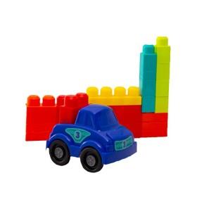 BUILD ME UP MAXI Carro con bloques de colores