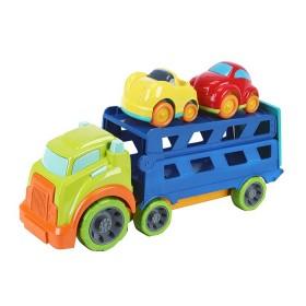 Camión transportador con dos carros