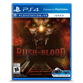 Videojuego PS4 VR Until Dawn: Rush of Blood