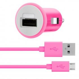 Cargador BELKIN de Auto redondo Micro USB 2.1
