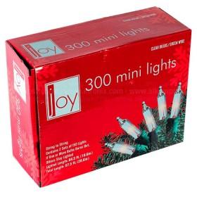 NAVIDAD Set x 300 Luces de Navidad Blancas