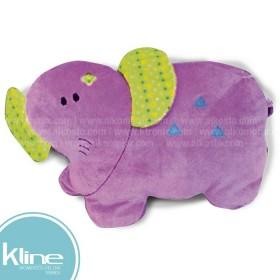 Cojín K-LINE infantil Elefante Morado