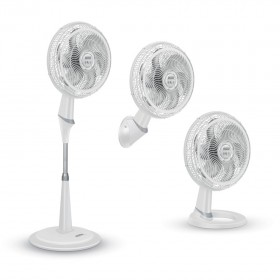 Ventilador SAMURAI Extreme 3 en 1 Blanco