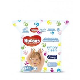 Toalla Húmeda HUGGIES Simply Clean x 192