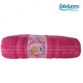 Toalla FATELARES Princesas 70 x 130 cm Fucsia