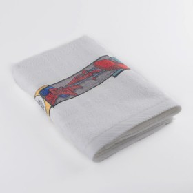 Toalla FATELARES SpiderMan 70 x 130 Blanco