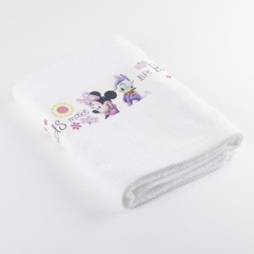 Toalla DISNEY Minnie 70 x 130 cm Blanco