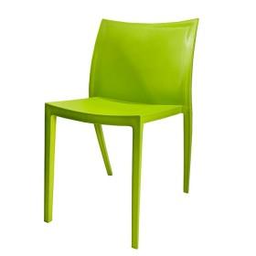 Silla de Diseño Auxiliar H-7055 Verde
