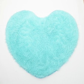 Tapete K-LINE Corazón Azul Celeste