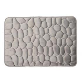 Tapete de baño K-LINE Textura Gris