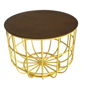 Mesa Decorativa TUKASA Amarilla