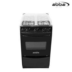 Estufa de Piso ABBA Negro de 4 Puestos AB101-6N
