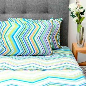Juego de cama K-LINE Doble Multicolor 7 Microfibra 100%