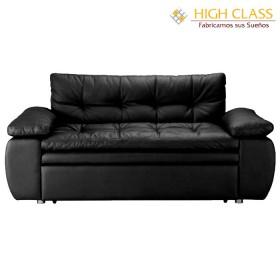 Sofá cama HIGH CLASS CarYoga Negro