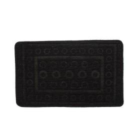 Tapete de baño TAPELANDIA Alto Relieve 70 x 50 cm Negro