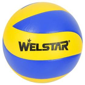 WELSTAR Pelota Volleyball 8 Panel Yellow/Blue