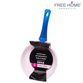 Sartén FREE HOME 20 cm Azul Antiadherente