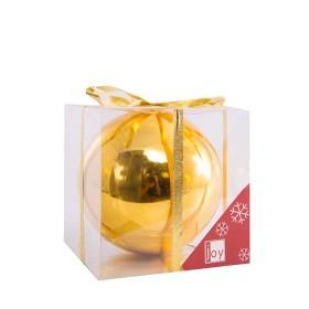 NAVIDAD Esfera Dorada de 15 cm