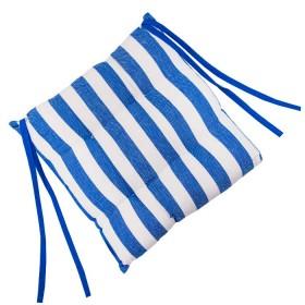 Cojín FREEHOME 40 x 40 Rayas Azules