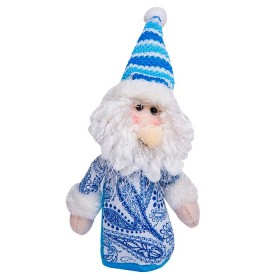 Colgante de Santa Claus Azul 5 cm