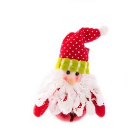 NAVIDAD Cascabel Santa Claus de 5 cm
