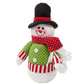 NAVIDAD Muñeco de Nieve parado de 9 cm