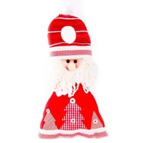 Colgante Puerta Santa Claus 13 cm