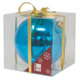 NAVIDAD Esfera Azul de 15 cm