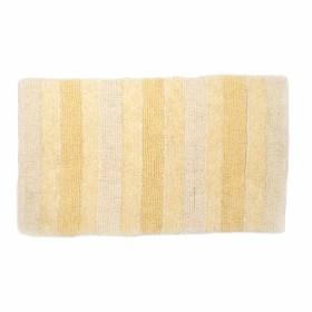 Tapete de Baño FREEHOME Rayas 50 x 80 Amarillo